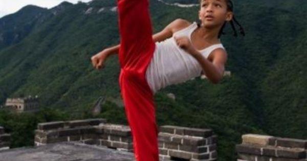 Jaden-Smith-The-Karate-Kid-Movie-Remake- red pant kick ...