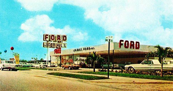 J D Ball Ford Miami Fl 1965 Ford