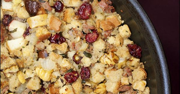 ... Chestnut, Sausage, and Apple Stuffing | Recipe | Apple Stuffing