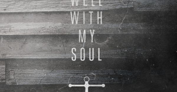the Lord is my anchor. It is well.