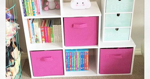 Princess Toys Box Storage Kids Girls Chest Bedroom Clothes: Kmart Storage For The Girls Toy Room