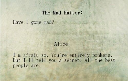 Alice and the Mad Hatter. aliceinwonderland