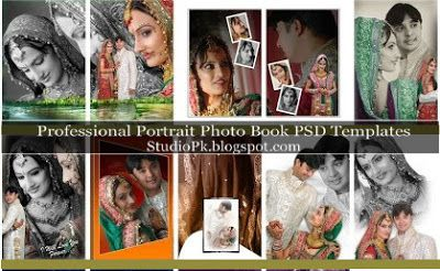 Professional Portrait Photo Book Psd Templates Marriage Photo Album Photo Book Wedding Album Layout