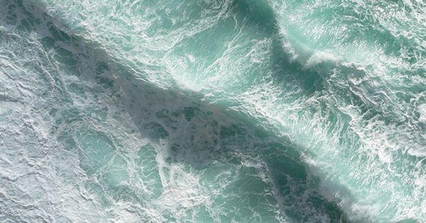 by Marek Misztal - A small part of Atlantic Ocean seen from