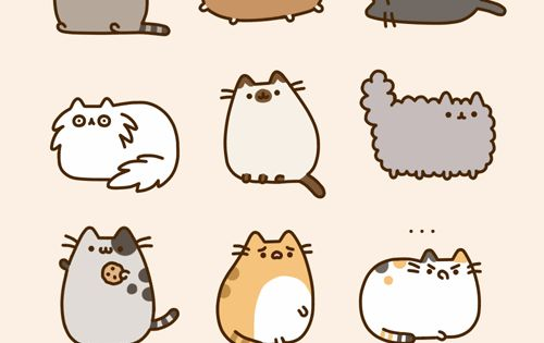 Never gonna stop pinning pusheen stuff