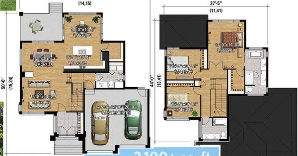 Plan 80840PM: Multi-Level Modern House Plan | Modern house