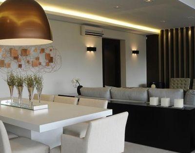 Comedor con luz c lida led comedor iluminaci n mesa - Iluminacion para comedor ...