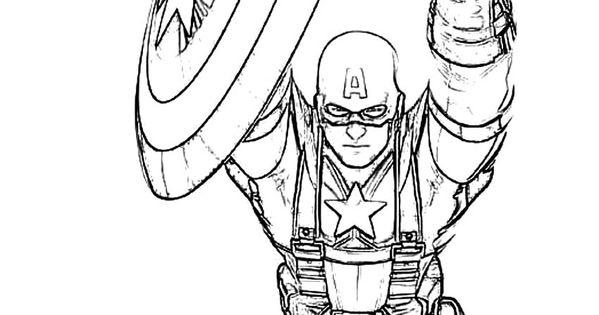 Capitan America Para Colorear: Resultado De Imagen De Dibujos Infantil Capitan America