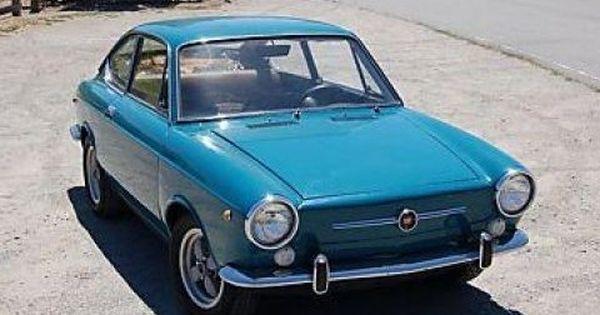 Bargain Italian 1968 Fiat 850 Coupe 200cc Fiat 850 Fiat