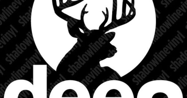 Jeep Deer Buck Hunting Rack Decal Sticker Cj Yj Tj Jk