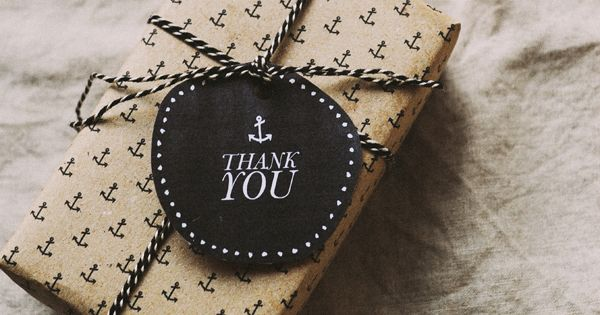 Freebies: Anchor Gift Wrap & Thank You Tag gift wrapping presents packaging