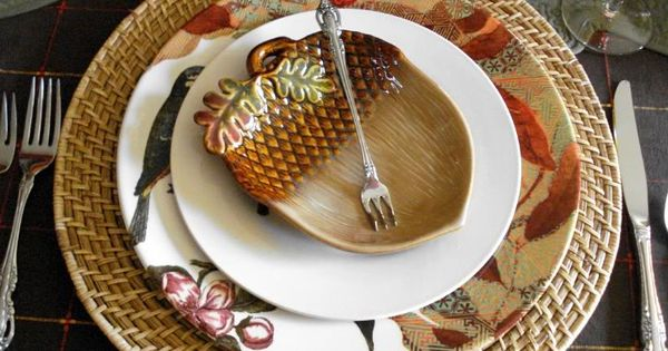 Dollar General Acorn Plate To Add An Appetizer Plate