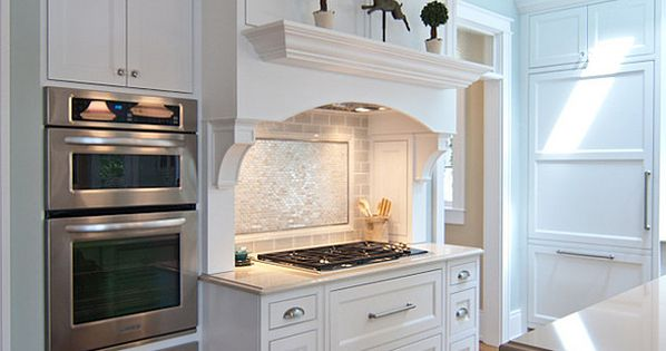 East Coast Inspired White Kitchen