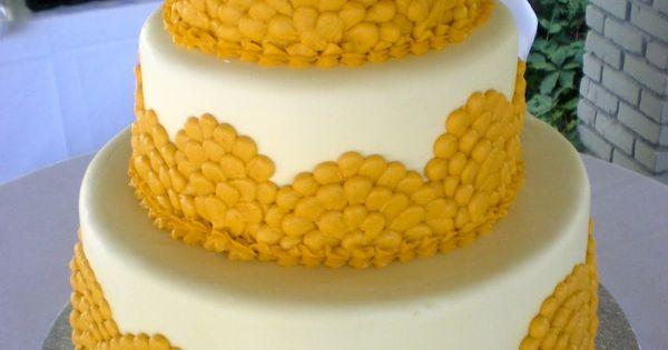 Mustard yellow cake!
