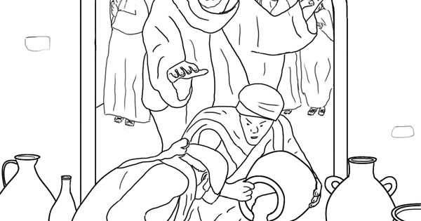 Sunday School Coloring Page The