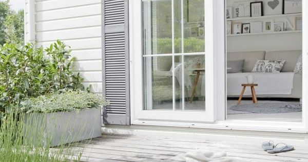 symphonie de blanc et bois id es jardins pinterest terrasse terrasse et terrasses en bois. Black Bedroom Furniture Sets. Home Design Ideas