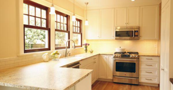 Wood Stained Windows Pendant Lighting Bright Kitchens Kitchen Inspirations Interior Trim