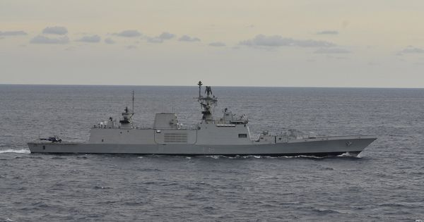 INS Satpura (F48) - Shivalik class Frigate (India) | Late ...
