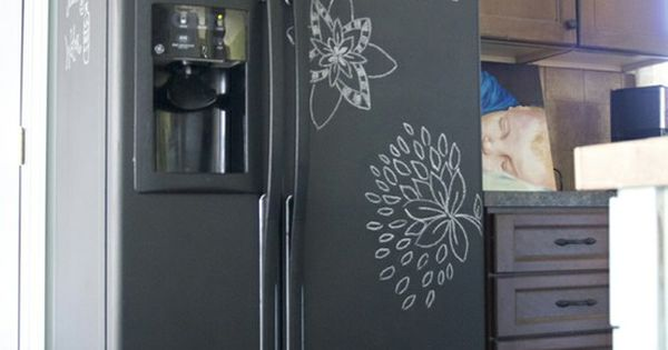 Seriously can i just paint my 70 39 s goldenrod appliances for Chalkboard appliance paint