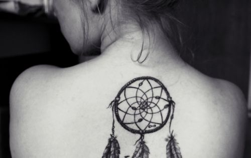 #backtattoo dreamcatcher