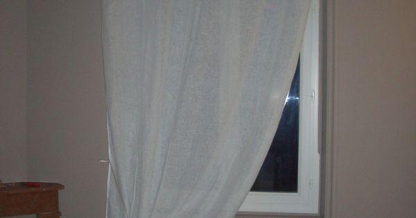 rideau drap ancien tete avec monogrammes deco pinterest draps anciens drap et monogramme. Black Bedroom Furniture Sets. Home Design Ideas