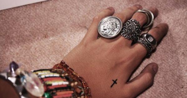 I think I want a tiny tattoo on my hand!