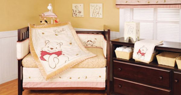 "My Friend Pooh 4 Piece Crib Bedding Set: ON SALE NOW!!! DISNEY BABY ""A BEAR NAMED POOH"" 4 PC CRIB"