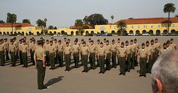 Mcrd San Diego Marine Corps Base In San Diego Ca Mcrd San Diego Marine Corps Marine Corps Bases