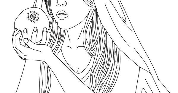 persephone coloring pages - photo #34