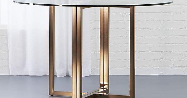 Strange Silverado Brass 47 Round Dining Table Cb2 March 31 2017 Beatyapartments Chair Design Images Beatyapartmentscom