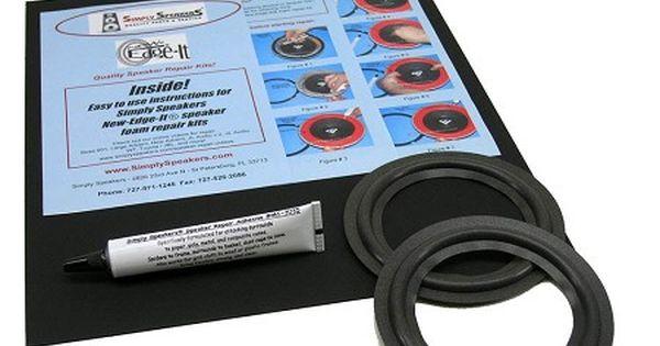Jbl 5 Foam Speaker Repair Kit 3 375 Cone Fsk 5ji Pair Speaker Repair Polk Audio
