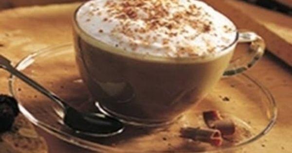 طريقة عمل مشروب الشوكولاتة الساخنة بزبدة الفول السوداني Coffee Recipes Flavored Drinks Cappuccino Recipe