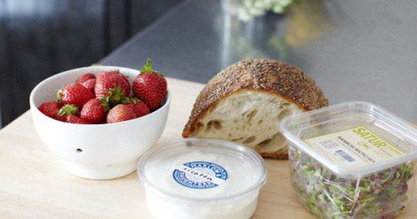 Strawberry Crostini | Morning Pleasures | Pinterest | Strawberries ...