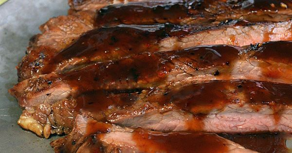 Check out Bourbon Brown Sugar Glazed Flank Steak. It's so easy to make ...