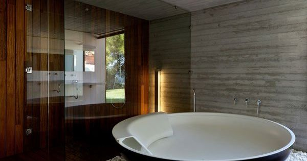 UFO Bathtub by Benedini bathroom decorating bathroom interior design bathroom design bathroom