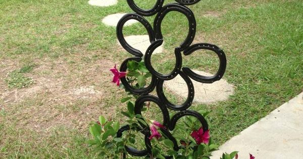 Flower Plant Climber $45 Find Lots Of Horse Shoe Creations