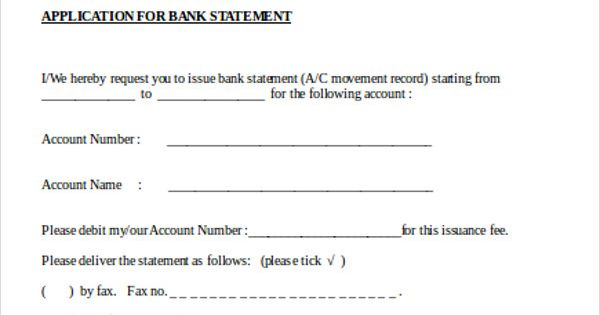 Marvelous Bank Account Form Template Test Application Letter Format For Free   New  Customer Account Form Template  New Customer Account Form Template