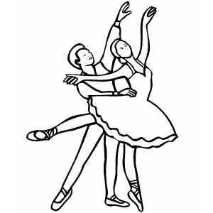 Ballet Dancing Couple Couple Dancing