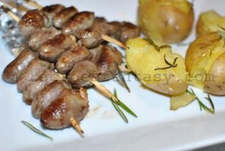 Churrasco De Curacao Brazilian Chicken Hearts Marinated Skewers Recipe Explained Step By Step And With Pictu Chicken Heart Skewer Recipes Brazilian Chicken