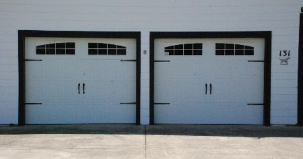 This Is A Wayne Dalton 9100 Sonoma Decorative Hardware White Wayne Dalton Garage Doors Garage Doors Door Design