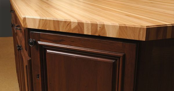 Best Wood For Butcher Block Counters: Dark Cabinets Maple Butcher Block Counters
