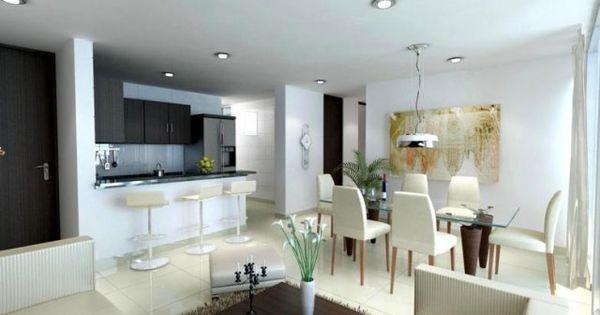 Dise os de sala comedor y cocina ph 39 s reciclados for Decoracion de living comedor