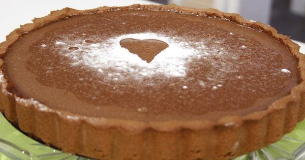 Cbc Sofra طريقة تحضير تارت الشيكولاتة شارع شريف Recipe Pie Tart Food Tart