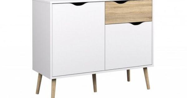 Pin By Olga On Comprar Barato Small Sideboard Tvilum Mid Century Modern Office Furniture