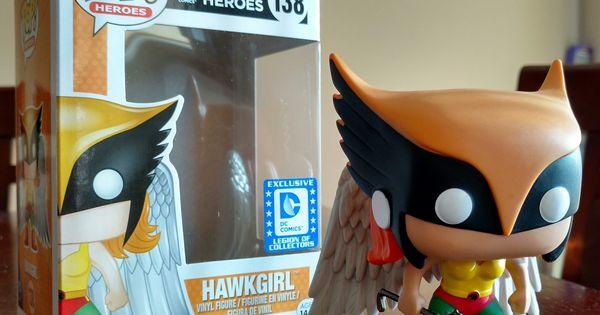 DC super heroes hawkgirl legion of collectors exclusive 138 funko