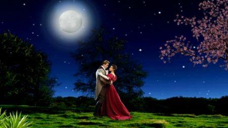 Magic Romantic Night Desktop Nexus Wallpapers Romantic Night Romantic Romantic Couples