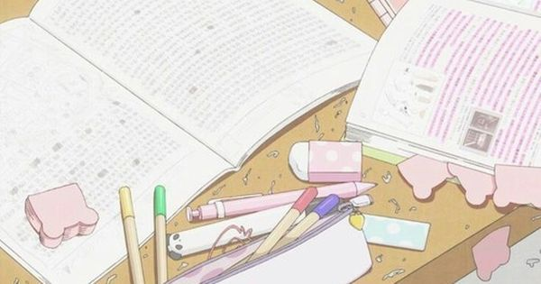 Aesthetic Anime Studying Wallpaper Aesthetic Anime Anime Anime Background