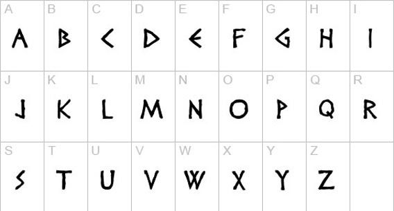 Free Roman And Greek Looking Fonts 36 Examples Roman Letters Ancient Roman Art Roman Numbers Tattoo