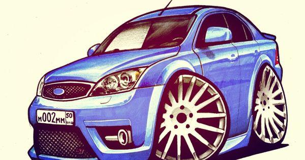 Sharzh Na Ford Mondeo St Autos Dibujos