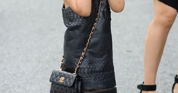 Alexander Wang's niece. kids fashion style nike sneakers dress bag purse leather